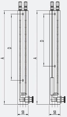 Budowa manometrów różnicowych