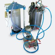Membrane bioreactor with measuring system